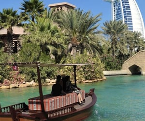 travel, view, and dubaï image