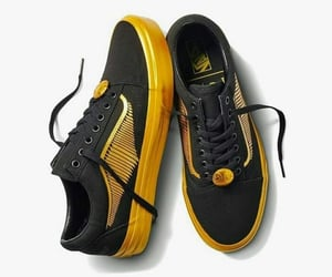 fandom, golden snitch, and sneakers image
