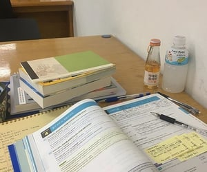 college, school, and study image