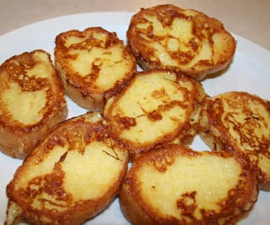 french toast, recipe, and pain perdu image