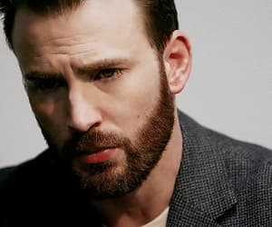 gif, handsome, and chris evans image
