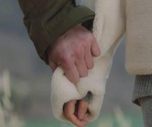 hold hands, park minyoung, and seo kangjoon image