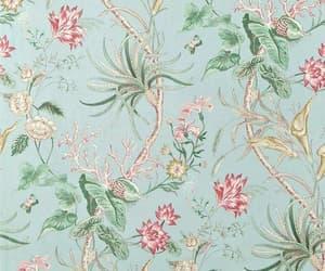 vintage, floral, and pattern image
