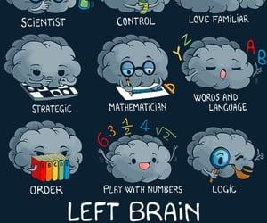 brain, dibujo, and divertido image