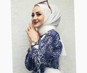 beauty, hijab, and picture image