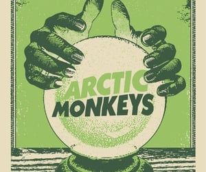 poster, arctic monkeys, and band image