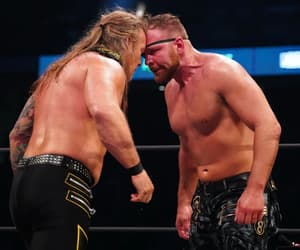 chris jericho, aew, and the shield image