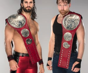 wwe, wwe tag team championship, and the shield image