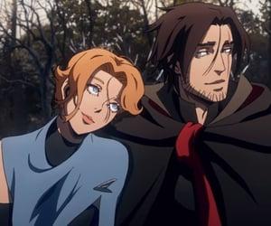 anime, castlevania, and trevor belmont image