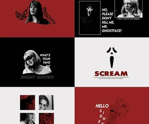 aesthetic, graphic, and scream image