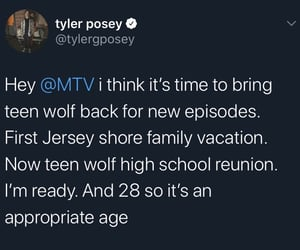 actor, tyler posey, and alpha image
