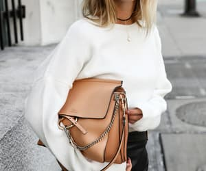 blonde, fashion girl, and look image