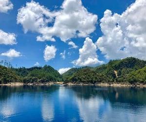 blue, chiapas, and river image