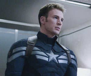 gif, chris evans, and Marvel image