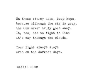 beauty, hope, and quotes image