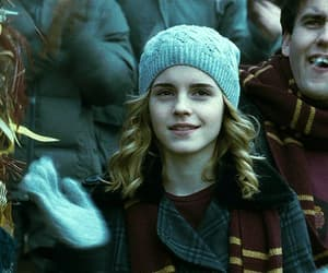 gif, hermione granger, and harry potter image