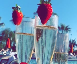 champagne and drinks image