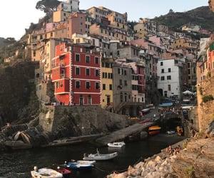 architecture, buildings, and cinque terre image