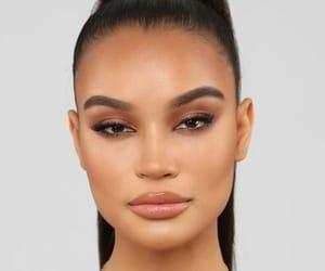 beautiful, makeup, and face image