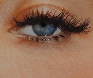 blue eyes, eyes, and girly image