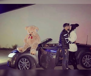 audi, teddy, and couplegoals image
