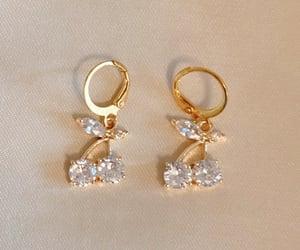 cherry, diamonds, and jewelry image
