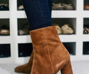 brown ankle boots image
