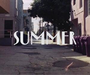 film, summer, and la la land image