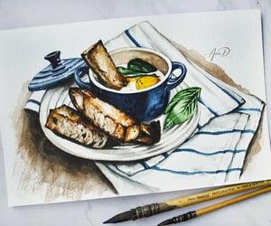 egg, food, and illustration image