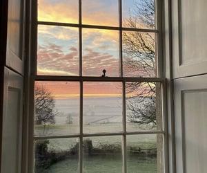 sky, view, and window image