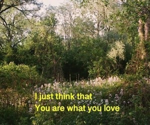 You are what you love. 🌿