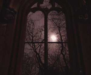 church, night, and witchcraft image