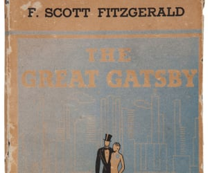 book, book cover, and the great gatsby image