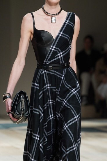 Alexander McQueen, black, and fashion image