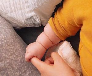 boy, newborn, and love image