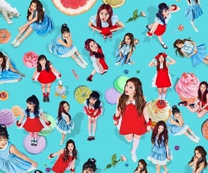 red velvet and rookie image