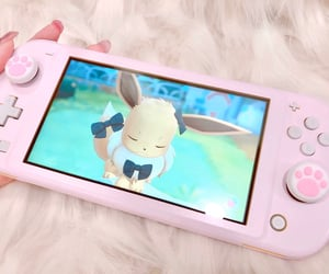 anime, eevee, and gamer image