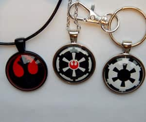 etsy, star wars fans, and star wars necklace image
