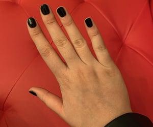 animals, makeup, and short nails image