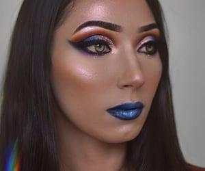 azul, eyeshadow, and glow image