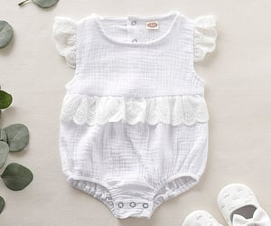 baby clothes, baby life, and bodysuits image