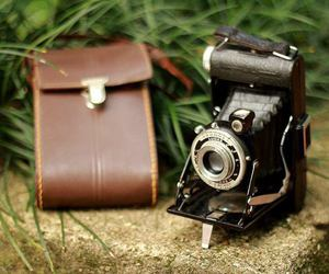 old camera, vintage, and camera image