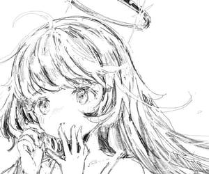 angelic, anime, and halo image