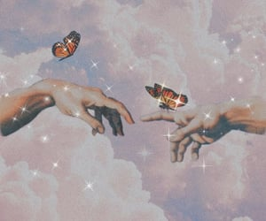 aesthetic, butterfly, and wallpaper image