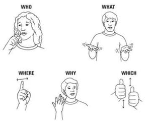 sign language image