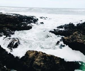 argentina, mar, and playa image