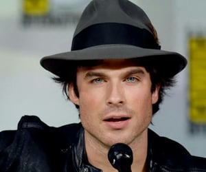 ian somerhalder, damon salvatore, and love image