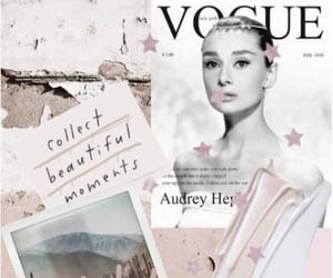 wallpaper, pink, and vogue image