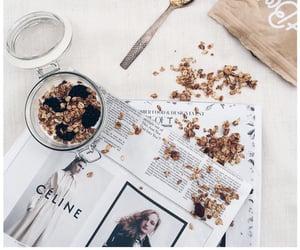 food, breakfast, and celine image