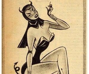 art, comic, and pinup image